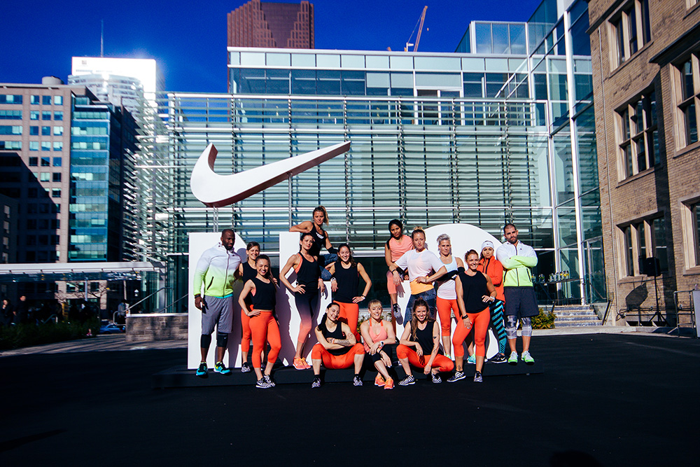Time to Shape Up! Nike's Free NTC Fitness Classes Hit the
