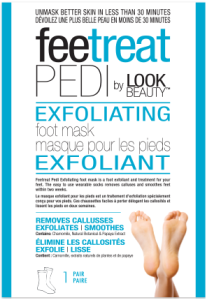 Look Beauty Feetreat Exfoliating Foot Mask