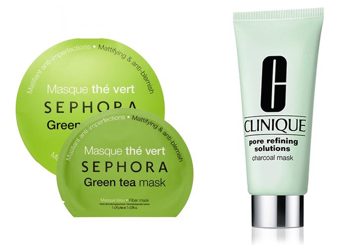 green face masks