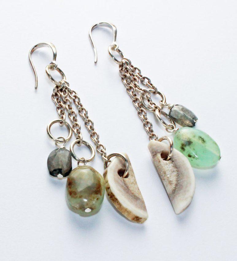 Frozen Fire Earrings