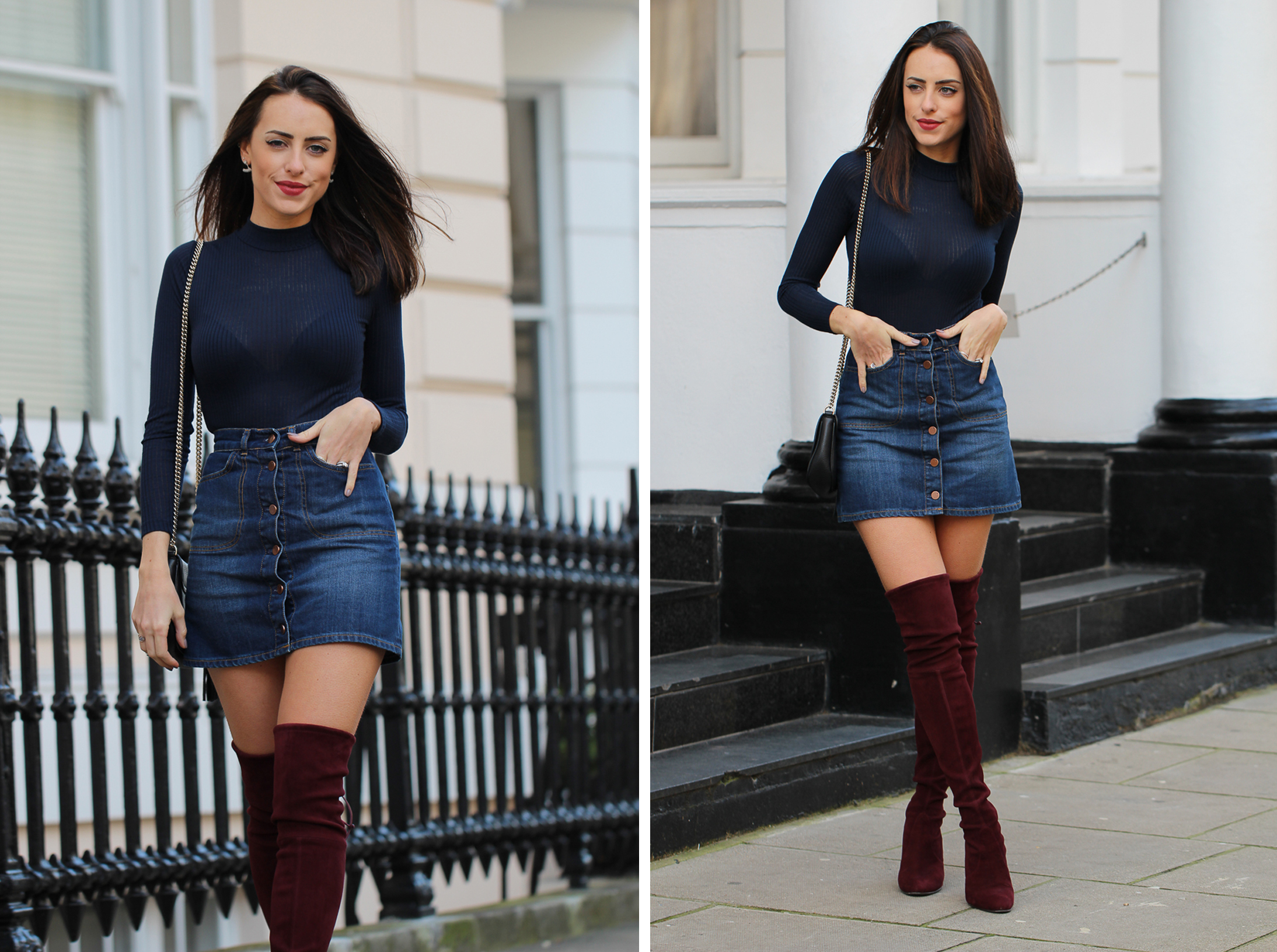 5 Blogger-Approved Ways to Wear a Denim Skirt - Page 3 of 5 ...