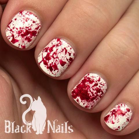 4 easy halloween nail art ideas  29secrets