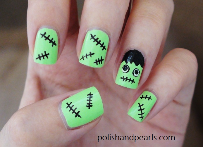 4 Easy Halloween Nail Art Ideas Page 2 Of 4 29secrets