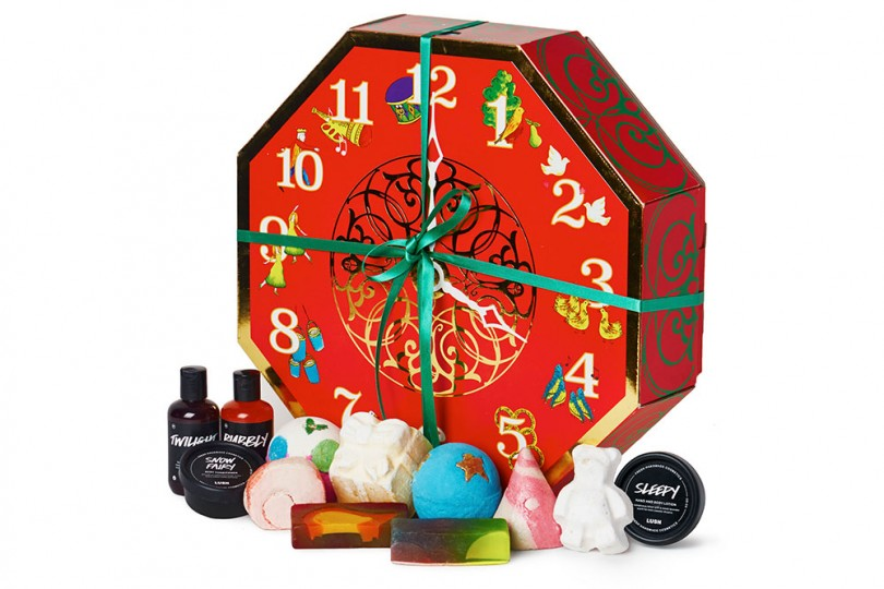 win lushs 12 days of christmas gift set