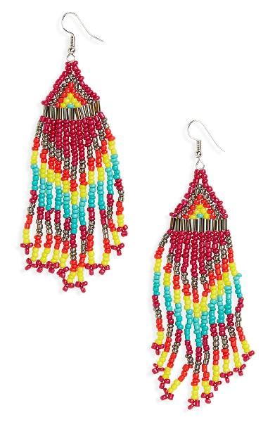 Cara Beaded Earrings