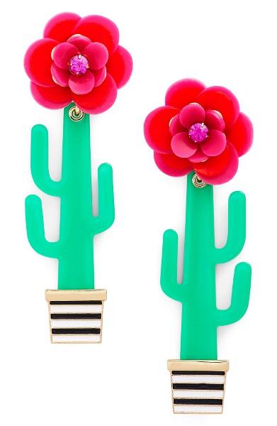 Kate Spade Cactus Earrings