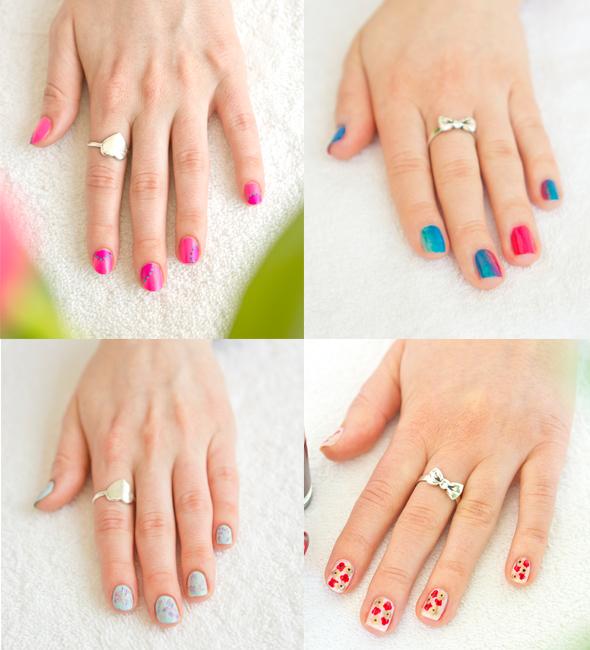 4 Nail Art DIY Looks