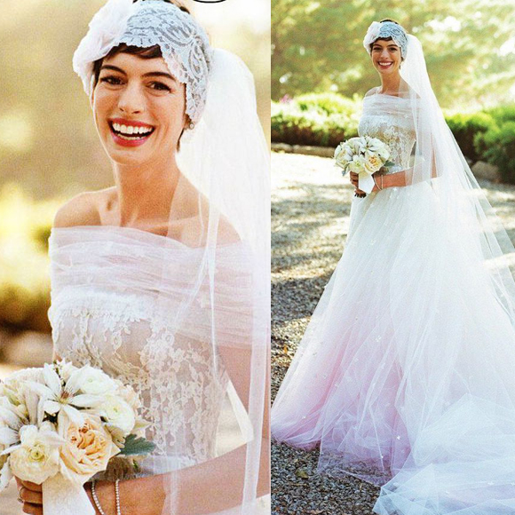 Anne Hathaway Gown: Our Favourite Celebrity Bridal Looks