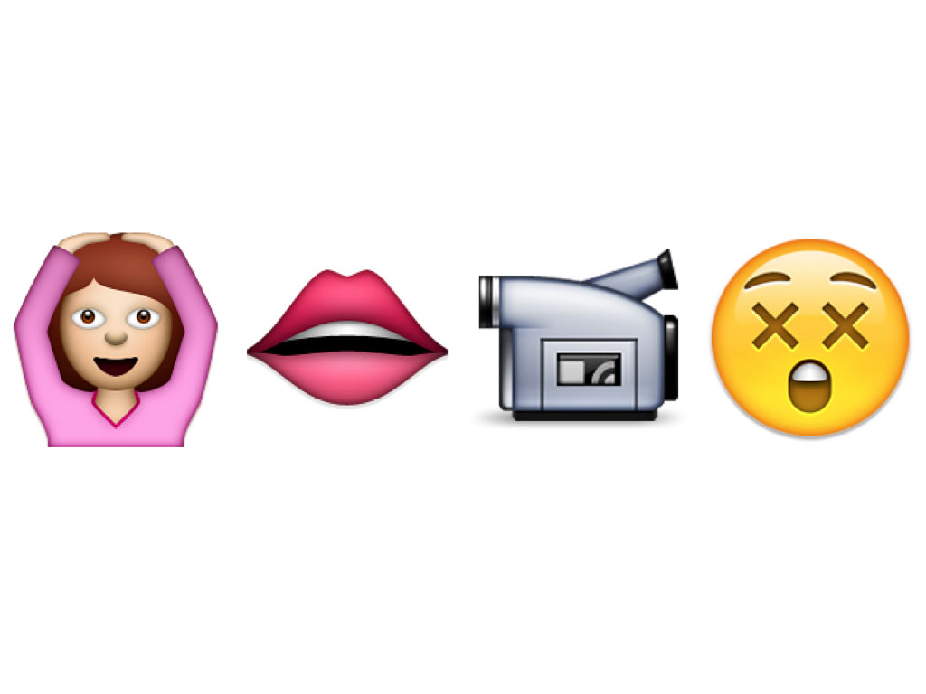 Sexual emojis to copy