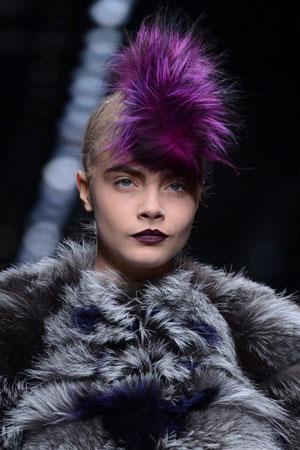 Fendi Punk Hairstyle