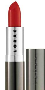 Lorac Tomato Red Lipstick