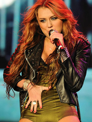 That Miley cyrus concert slutty