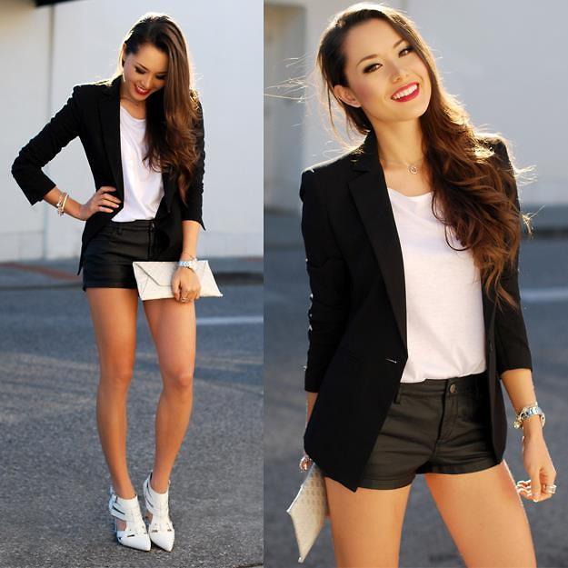 Wear the Black & White Trend - 29Secrets