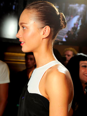 Stella McCartney Spring 2012 Hair