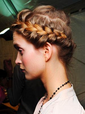 Valentino Spring 2012 Hair