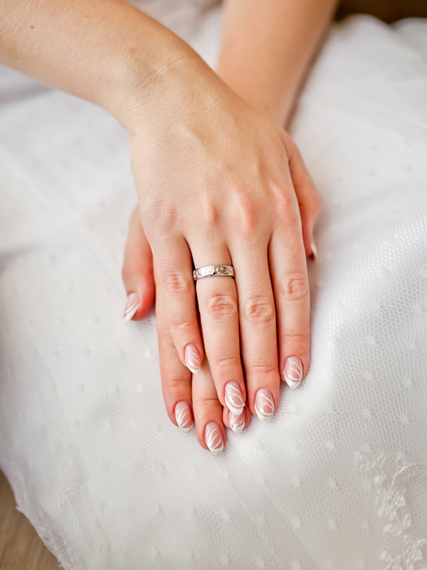 Our Favourite Wedding Day Nail Looks from Pinterest - 29Secrets
