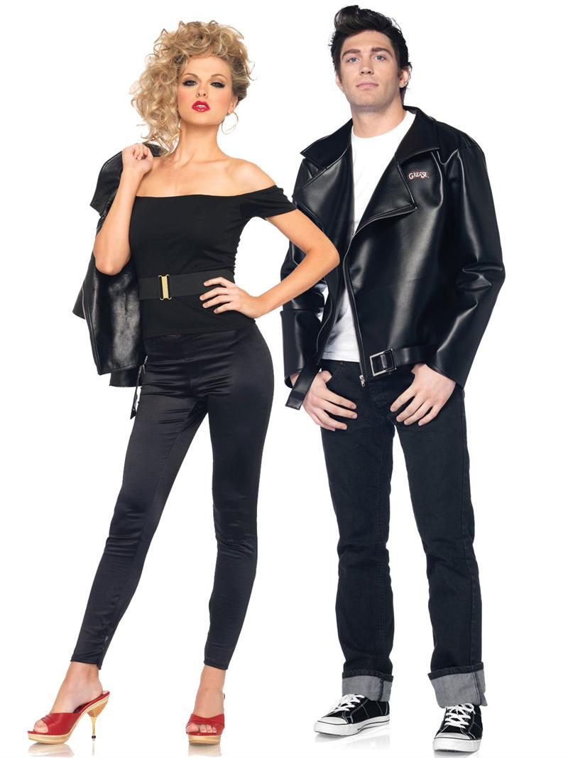 Danny and Sandy Halloween Grease Costumes  sc 1 st  29Secrets & 6 Cute Halloween Costumes for Couples - 29Secrets
