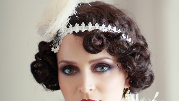flapper style hair twenties hairstyles embrace your inner flapper 29secrets 4634