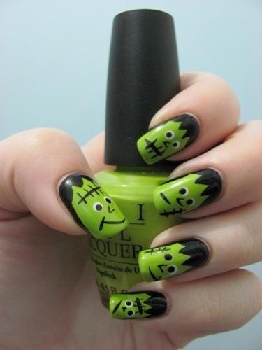 Halloween Nail Art 29secrets