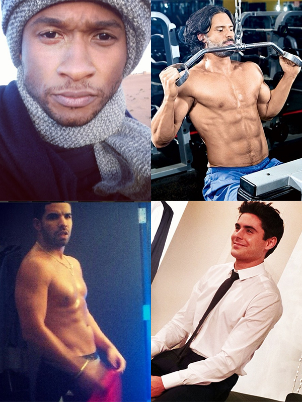11 Sexy Male Celebrities on Instagram