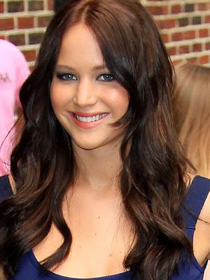 Jennifer Lawrence brunette