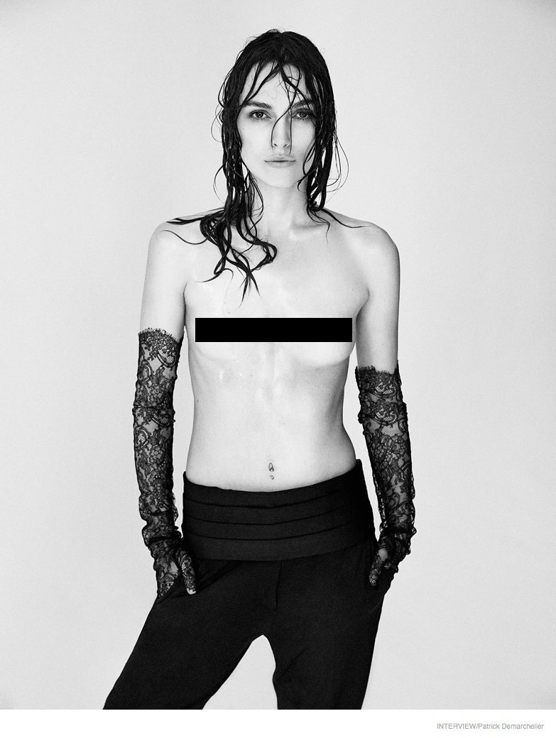 Keira knightley topless magazine And have