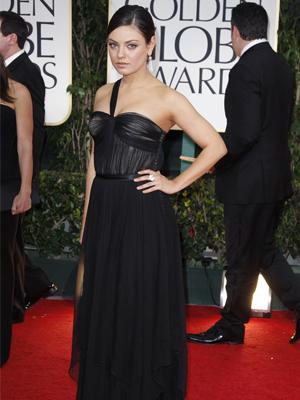 Mila Kunis Golden Globe's 2012 Christian Dior