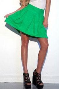 Not Just Pretty Modern Organic Clothing skirt