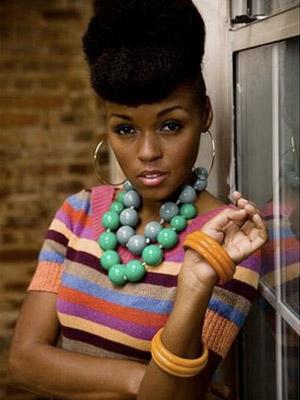 Janelle Monae urban look