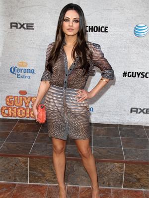 Mila Kunis in Givenchy dress