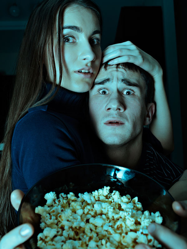 Good scary date movies