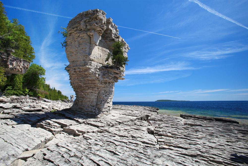 Flowerpot Island, Ontario - Summer Canadian Travel Destinations