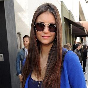 nina dobrev ray ban sunglasses