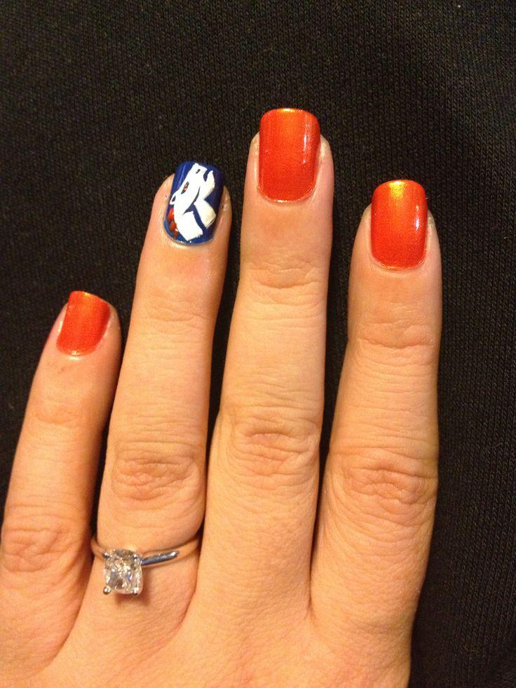 Superbowl Nail Art - Super Bowl XLVIII Nail Art! - 29Secrets