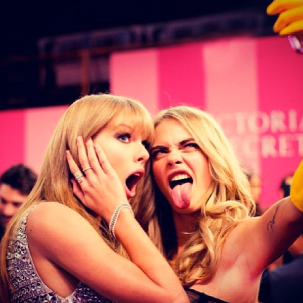 Image result for taylor swift and cara delevingne tumblr