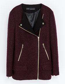 Zara burgundy jacket